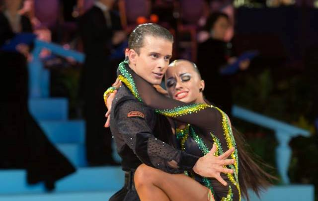 Damir Halužan in Anna Mashchyts 3. na Open World Championships