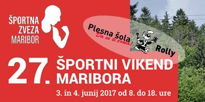 Športni vikend Maribora s Plesno šolo Rolly