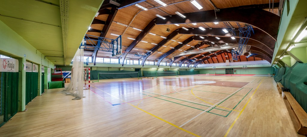 Rogla sport hall whole