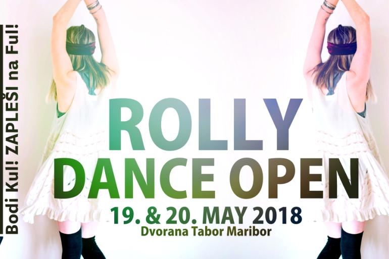 ROLLY DANCE OPEN – Prijavite se lahko že zdaj.