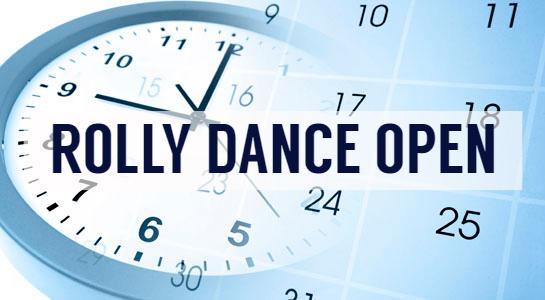 Objavljamo uradni URNIK za ROLLY DANCE OPEN 2018!