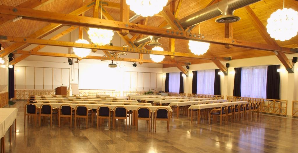 big hall on Rogla