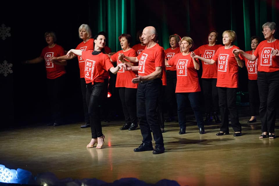 Božično plesna produkcija Plesne šole Rolly 2018