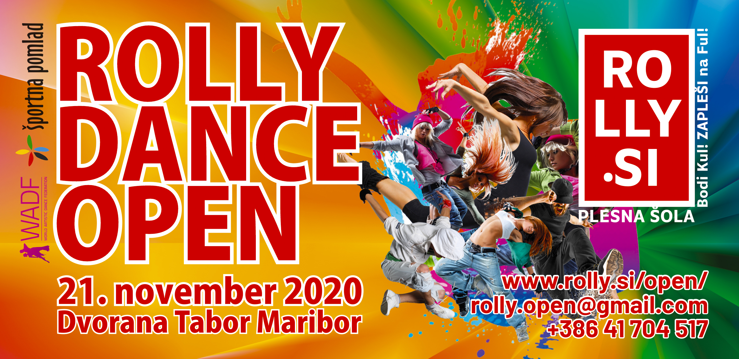 Rolly Dance Open 2020: NOV DATUM