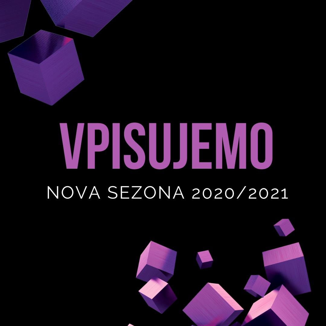 VPISUJEMO: Nova plesna sezona 2020/2021!